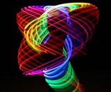 Double Rainbow LED Hula Hoop
