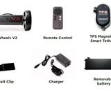 eWheels V2 - Turn Any Pushcart Into a Smart Caddy