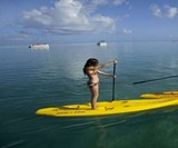 Hybrid Stand Up/Sit Down Paddleboard