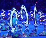 Monovelo Riders at the 2008 Beijing Olympics Closing Ceremony