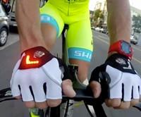 Cyclist's Turn Signal Gloves