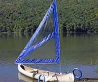 Serenity Upwind Kayak & Canoe Sail Rig