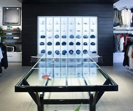 Glass Top Ping Pong Table