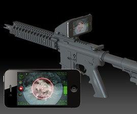Inteliscope - Tactical Rifle Adapter for iPhone