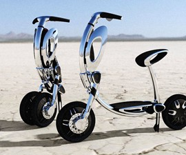 INU Folding Electric Scooter