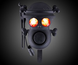 Skull Ultra-Loud Electric Bike Horn