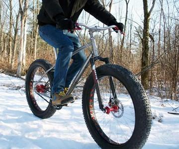 Budnitz FTB - Snow-Faring Fat Bike