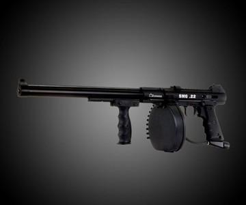 Full Auto Belt Fed Pellet Gun