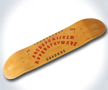 Ouija Skateboard Deck
