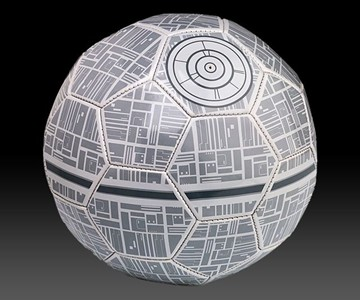 Star Wars Death Star Soccer Ball