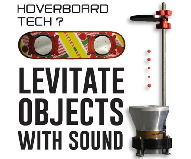 Ultrasonic Levitation Machine - Hoverboard Tech