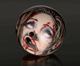 Zombie Head Bowling Balls-9697