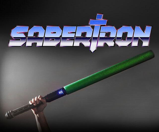 Sabertron Electronically Scored Sword Fighting Dudeiwantthatcom