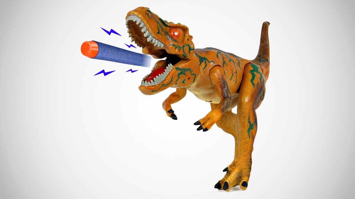 T-Rex Foam Dart Gun