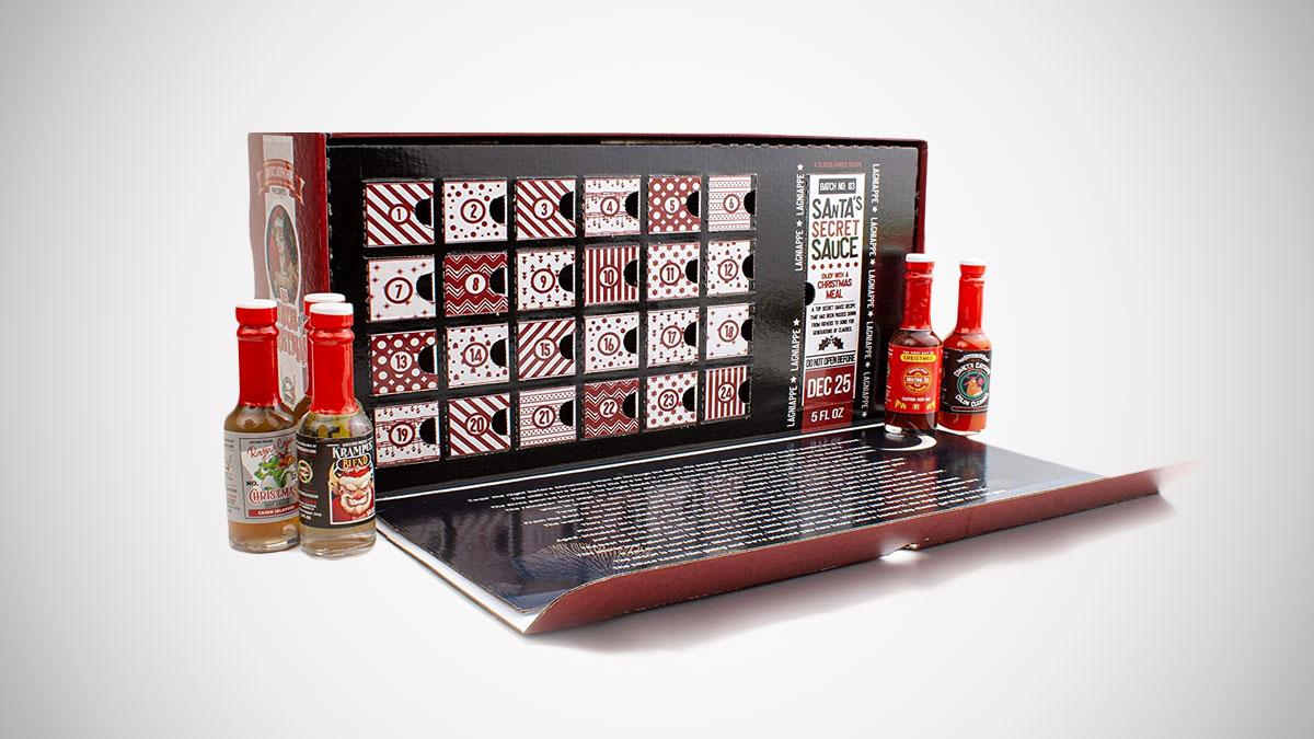 The 25 Sauces of Christmas Hot Sauce Advent Calendar