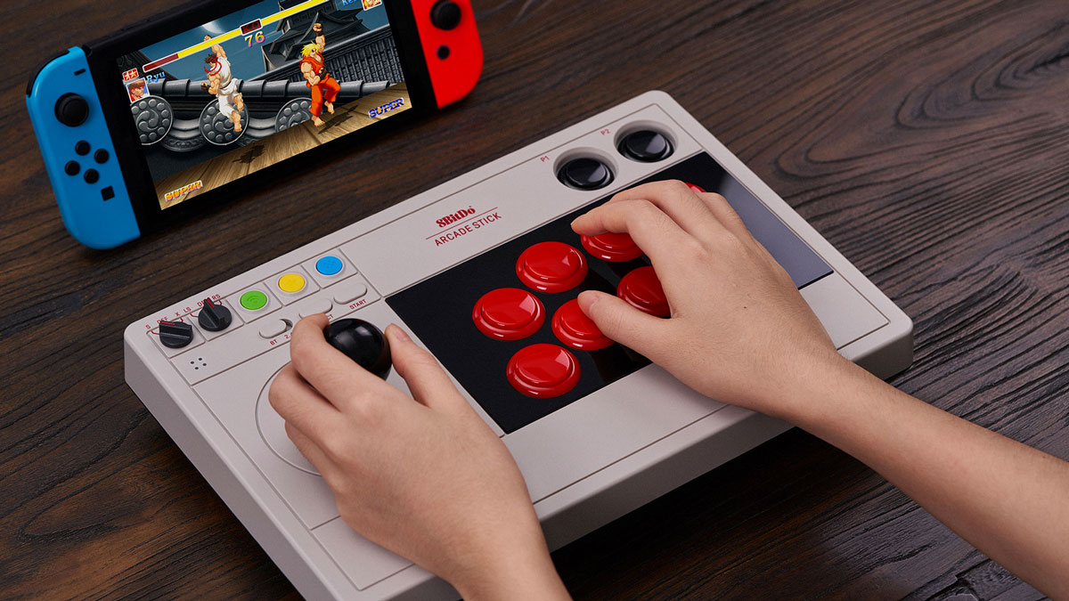 8Bitdo Arcade Stick for Nintendo Switch & Windows
