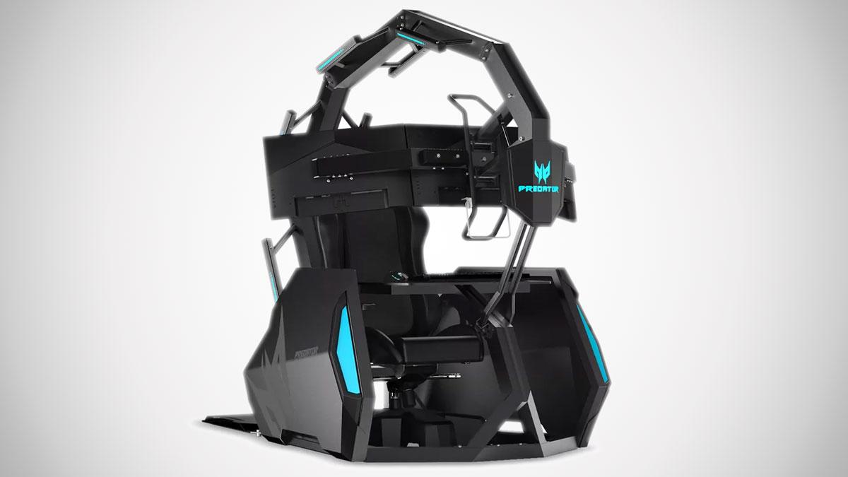 Acer Predator Thronos Air Gaming Chair Dudeiwantthat Com