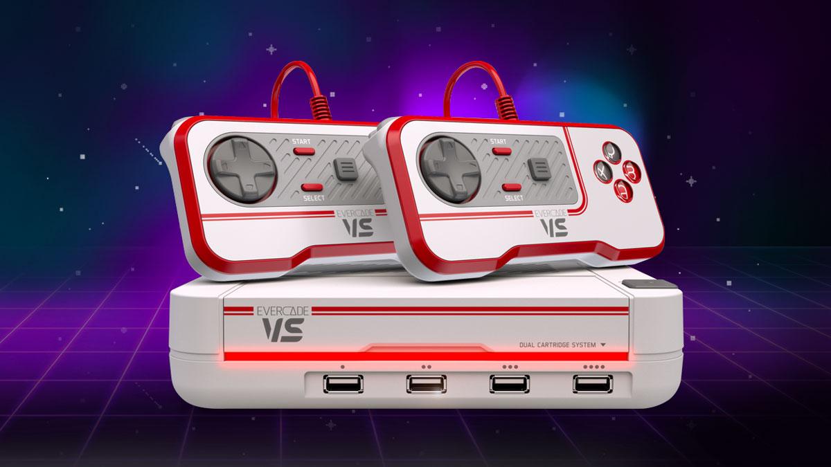Evercade VS Retro Gaming Console