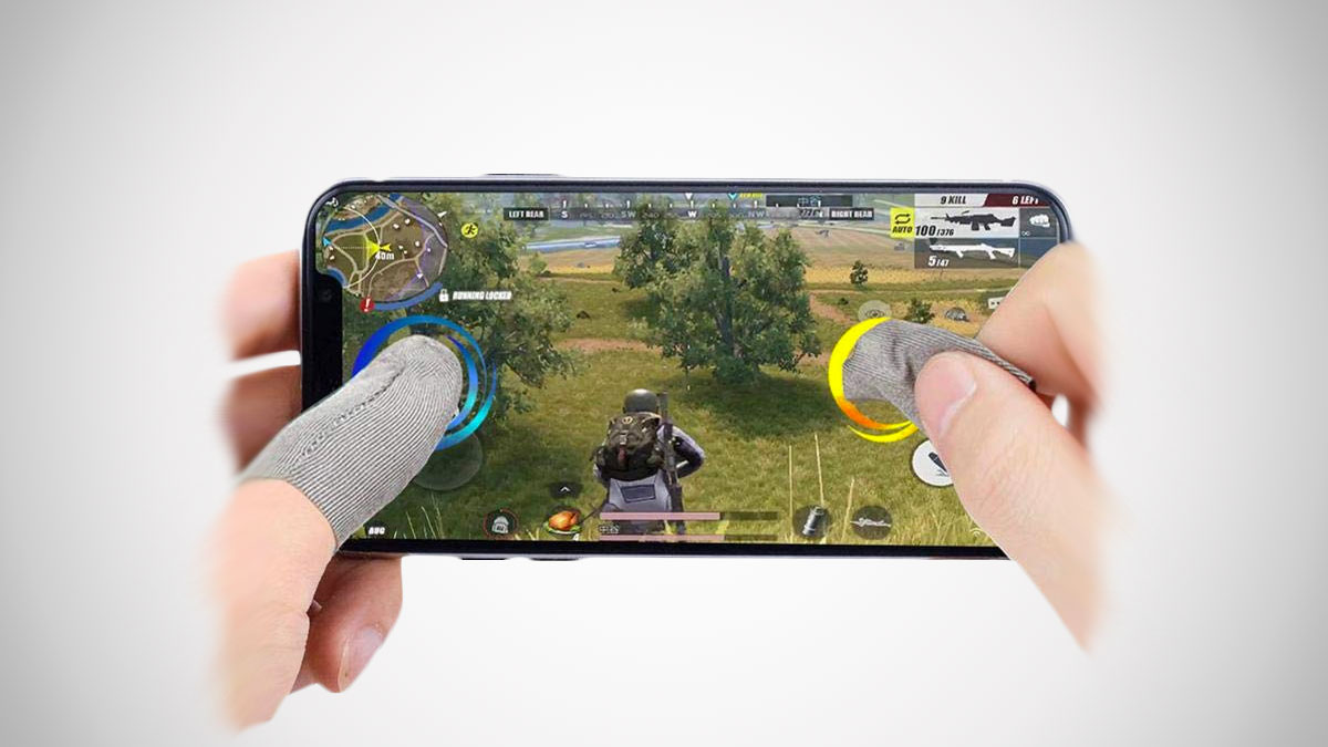 Mobile Game Finger Sleeves