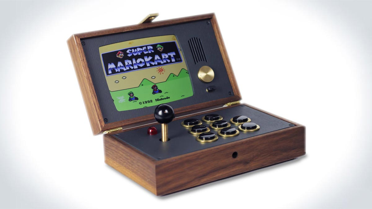 R-KAID-R Wood Gaming Console