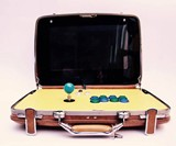 Retro-Inspired Portable Briefcase Arcades