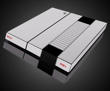 PS4 Retro Nintendo Skin