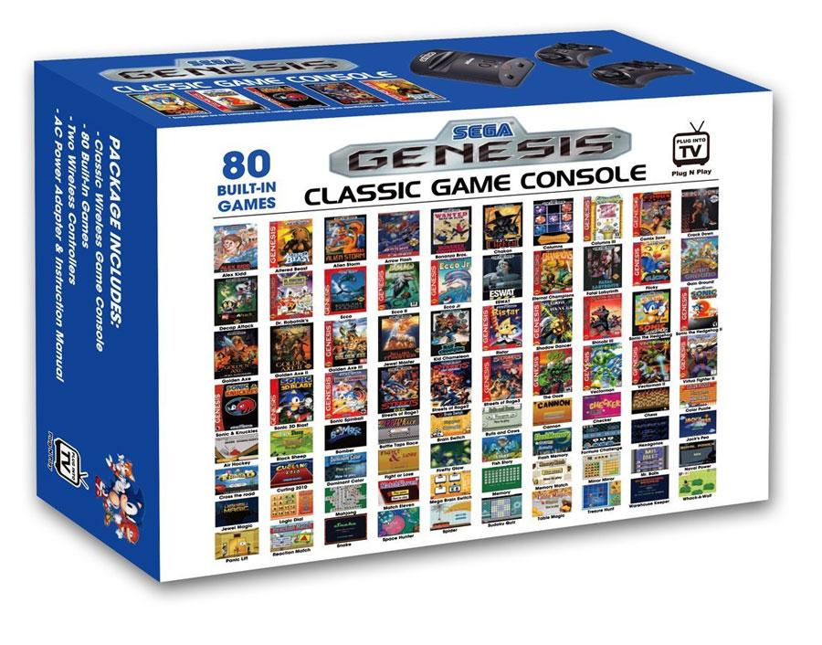 Sega genesis classic game console - Sega genesis classic game console game list ...