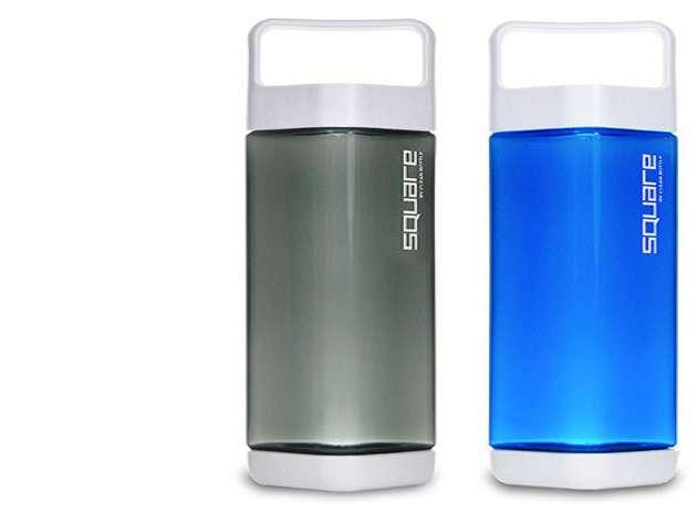 Clean Bottle Square Water Bottle 2 Pack Dudeiwantthat Com