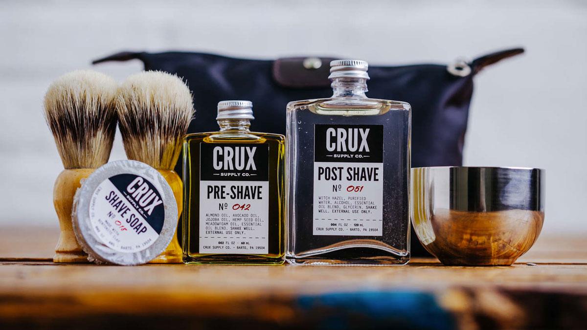 Crux Supply Co. Shaving Kit