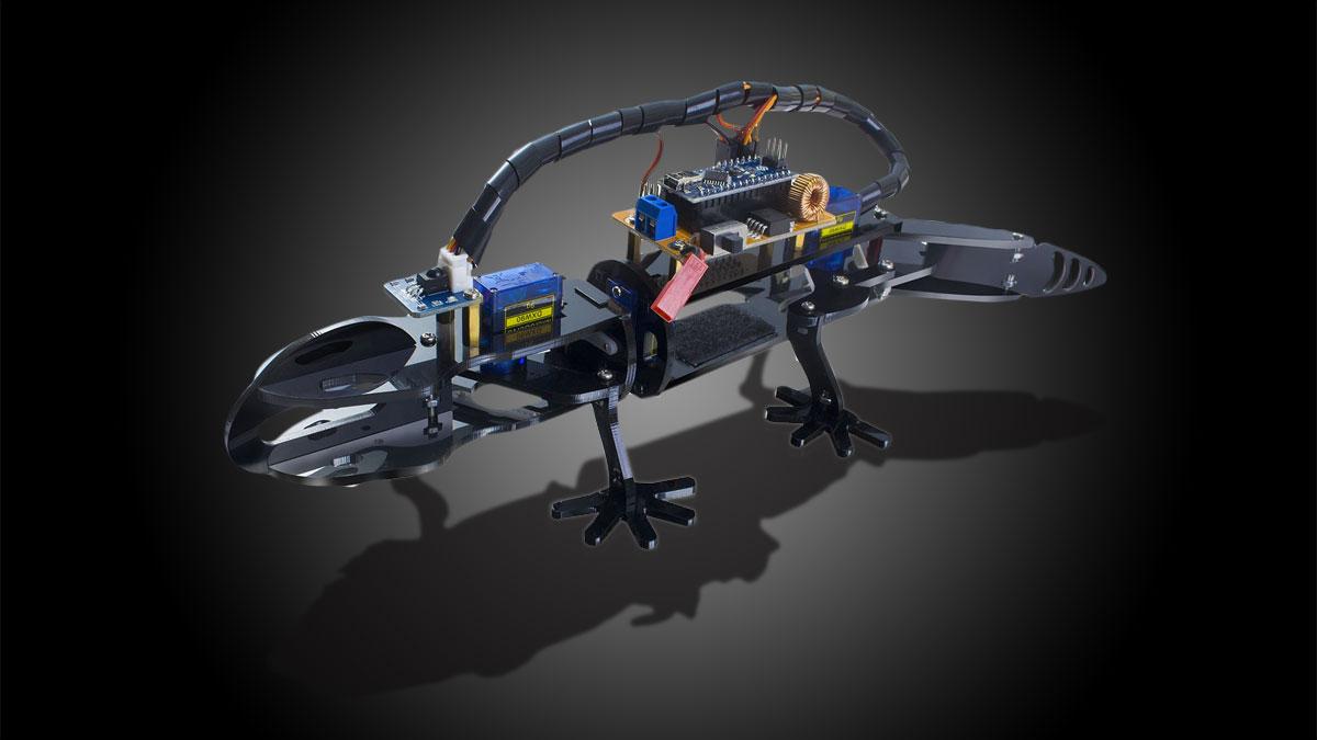 DIY Bionic Robot Lizard