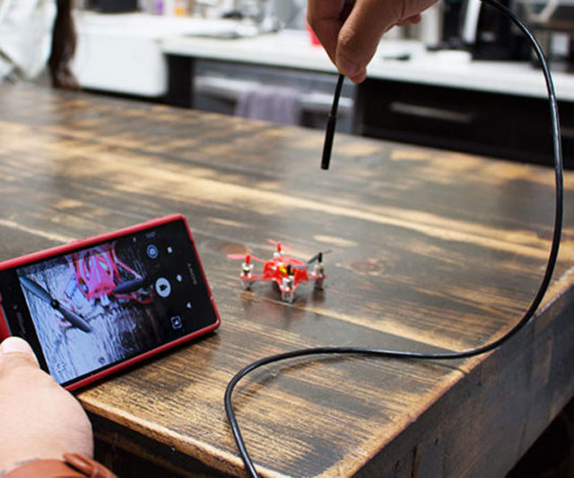 Endoscopic Android Camera