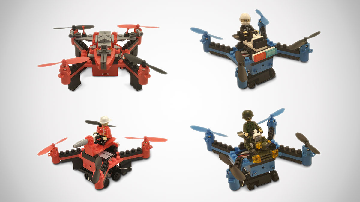 Force Flyers DIY Building Block Drones