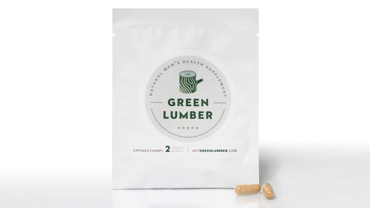 Green Lumber Male Enhancement Supplement
