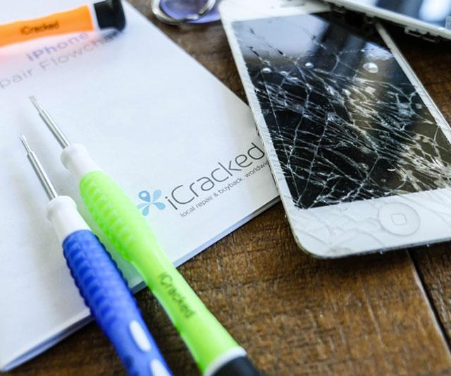 how to fix a cracked phone screen yourself