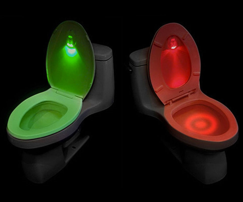 Motion Activated Led Toilet Light Dudeiwantthat Com