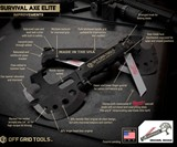 Off Grid Survival Axe Elite