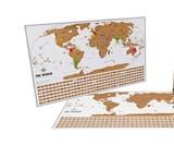 World Travel Tracker Scratch Off Maps