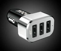 Mpow 3-Port Intelligent Car Charger