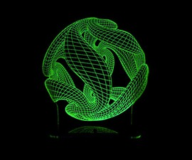 3D-Illusion Lighting Sculpture