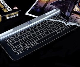 Bastron B9 Glass Bluetooth Keyboard