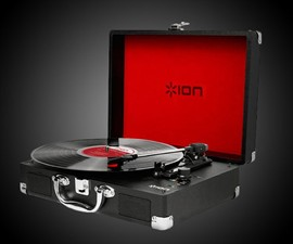 ION Vinyl Motion 3-Speed Turntable