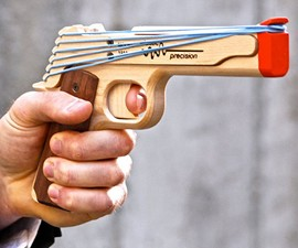 Model 1911 Rubber Band Gun