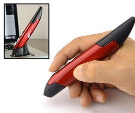 Wireless Handheld Feather Mouse