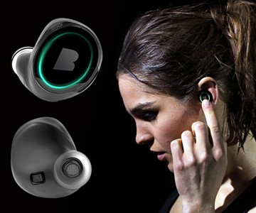 15ba44d57c6 Bragi Dash Truly Wireless Smart Earphones | DudeIWantThat.com