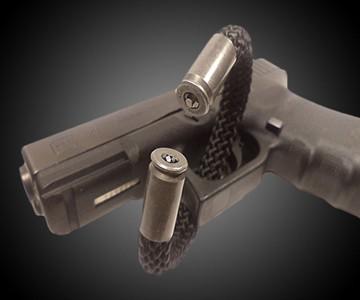 BearArms Paracord Bullet Bracelets