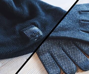 Bluetooth Beanie & Touchscreen Gloves