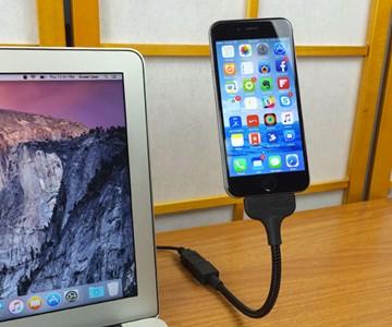 Bobine Blackout Flexible iPhone Charging Dock
