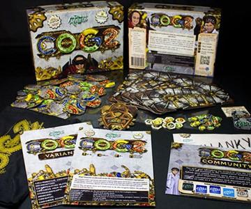 COGZ Steampunk Board Game
