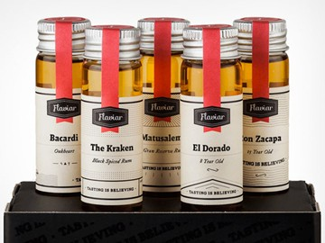 Flaviar Top-Shelf Liquor Tasting Packs