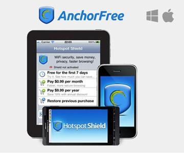 Hotspot Shield Cyber Hacker Protection